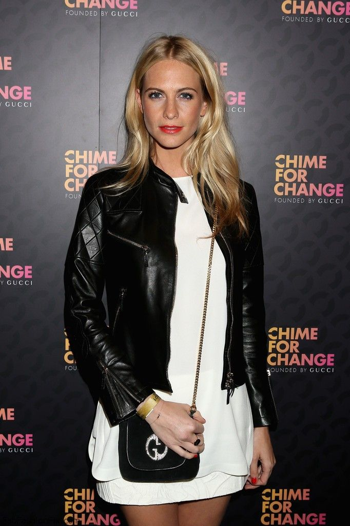 Poppy Delevingne - Royal Box Arrivals At Chime For Change The Sound Of Change Live Concert-001