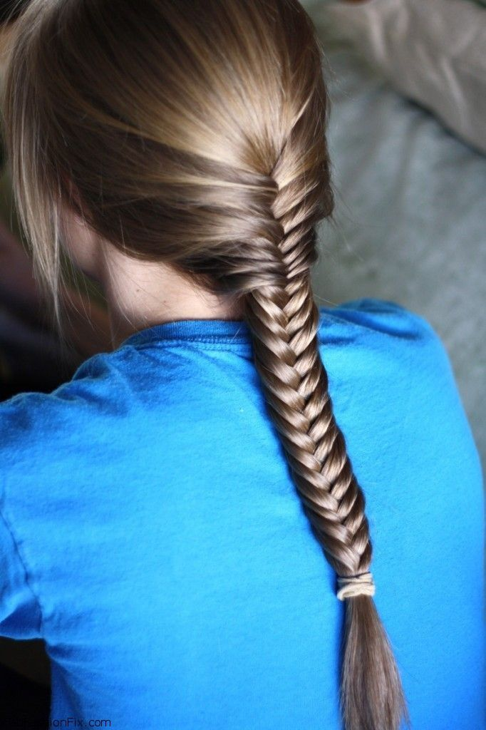 how to fish tail braid - photo #22