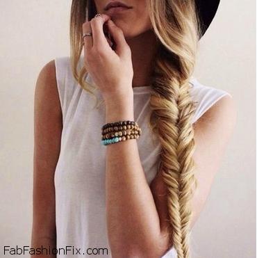 Hair: How to do fishtail braid hairstyle? | Fab Fashion Fix