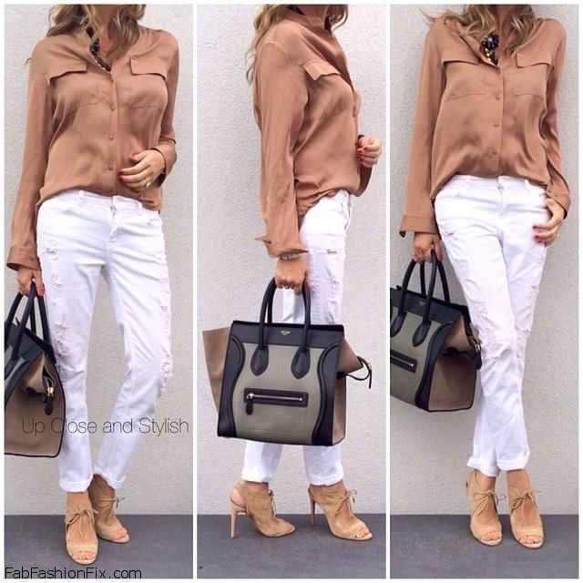 Style Guide: How to wear white jeans this summer? | Fab Fashion Fix