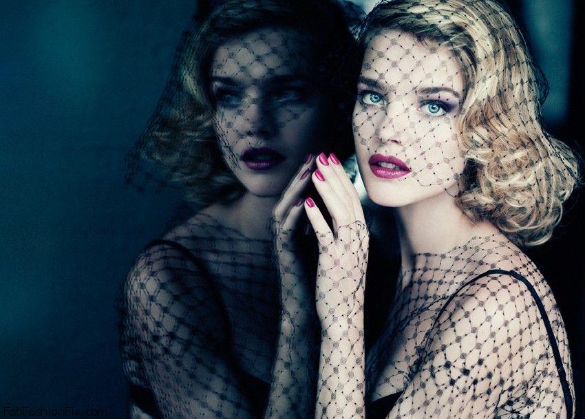Natalia-Vodianova-Voilette-de-Madame-Fall-2013-Makeup