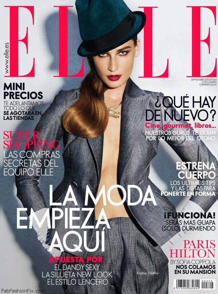 Eugenia Volodina for Elle Spain September 2013