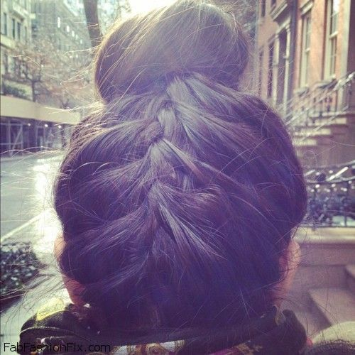How To French Braid Your Hair Upside Down