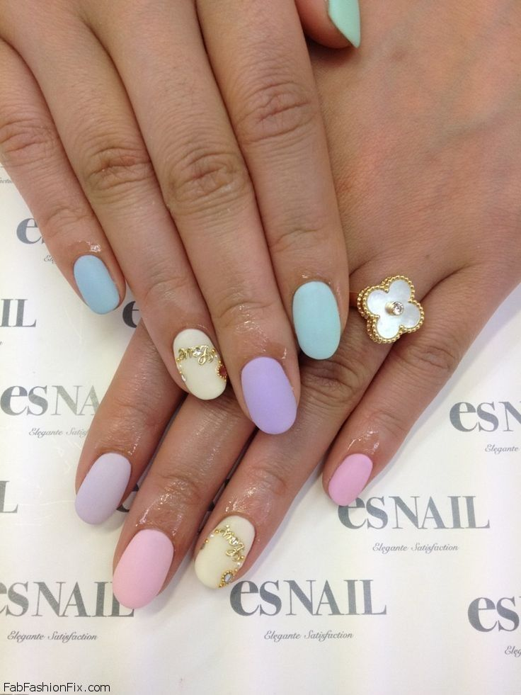 Nails: Pastel Nails Trend And Inspirations