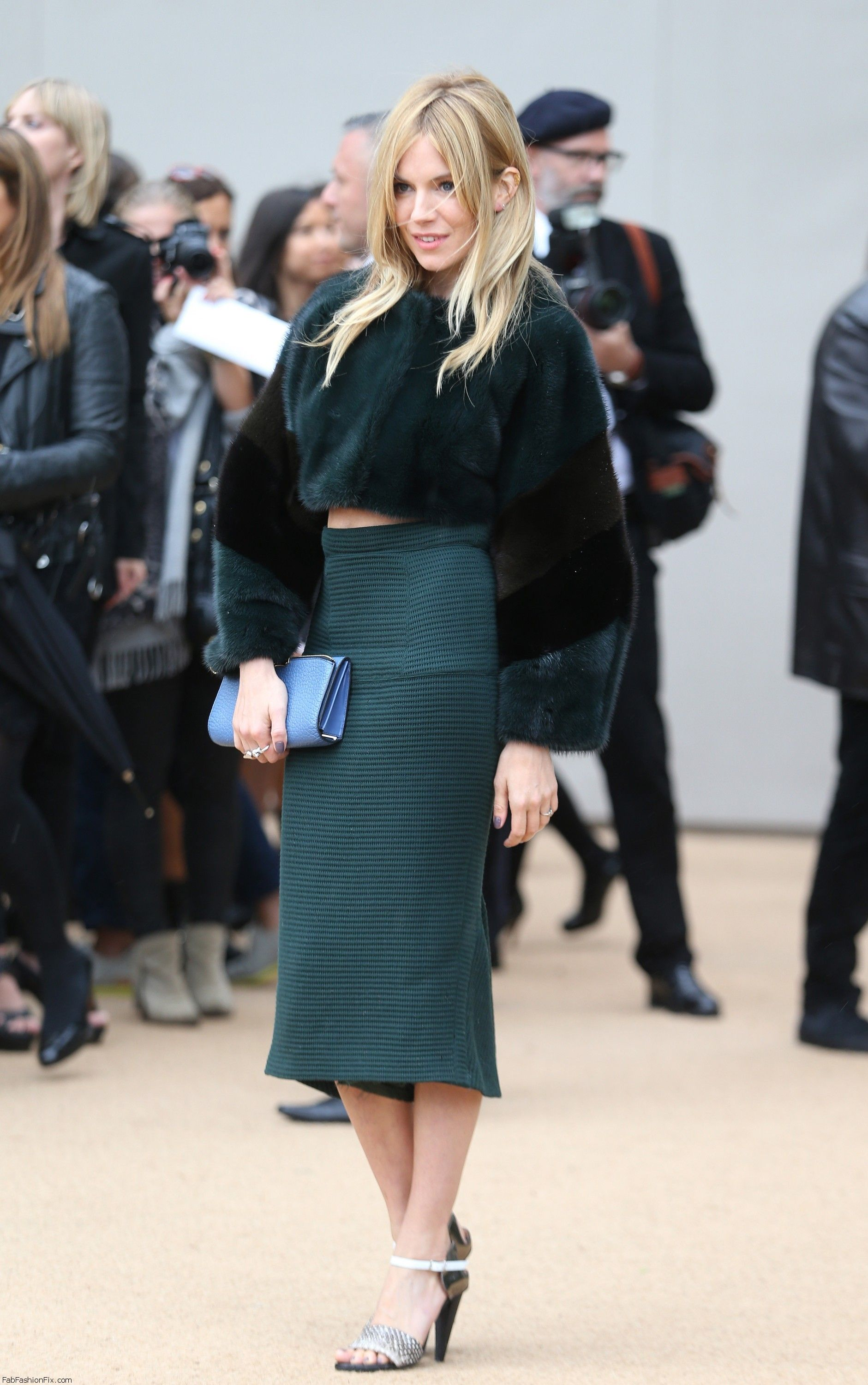 Burberry Prorsum - Red Carpet Arrivals: London Fashion Week SS14