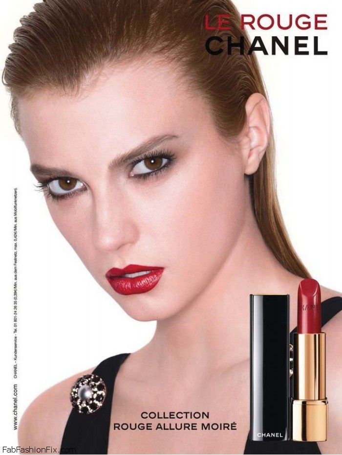 "Chanel ""Rouge Allure Moire De Chanel"" Make-up Collection"