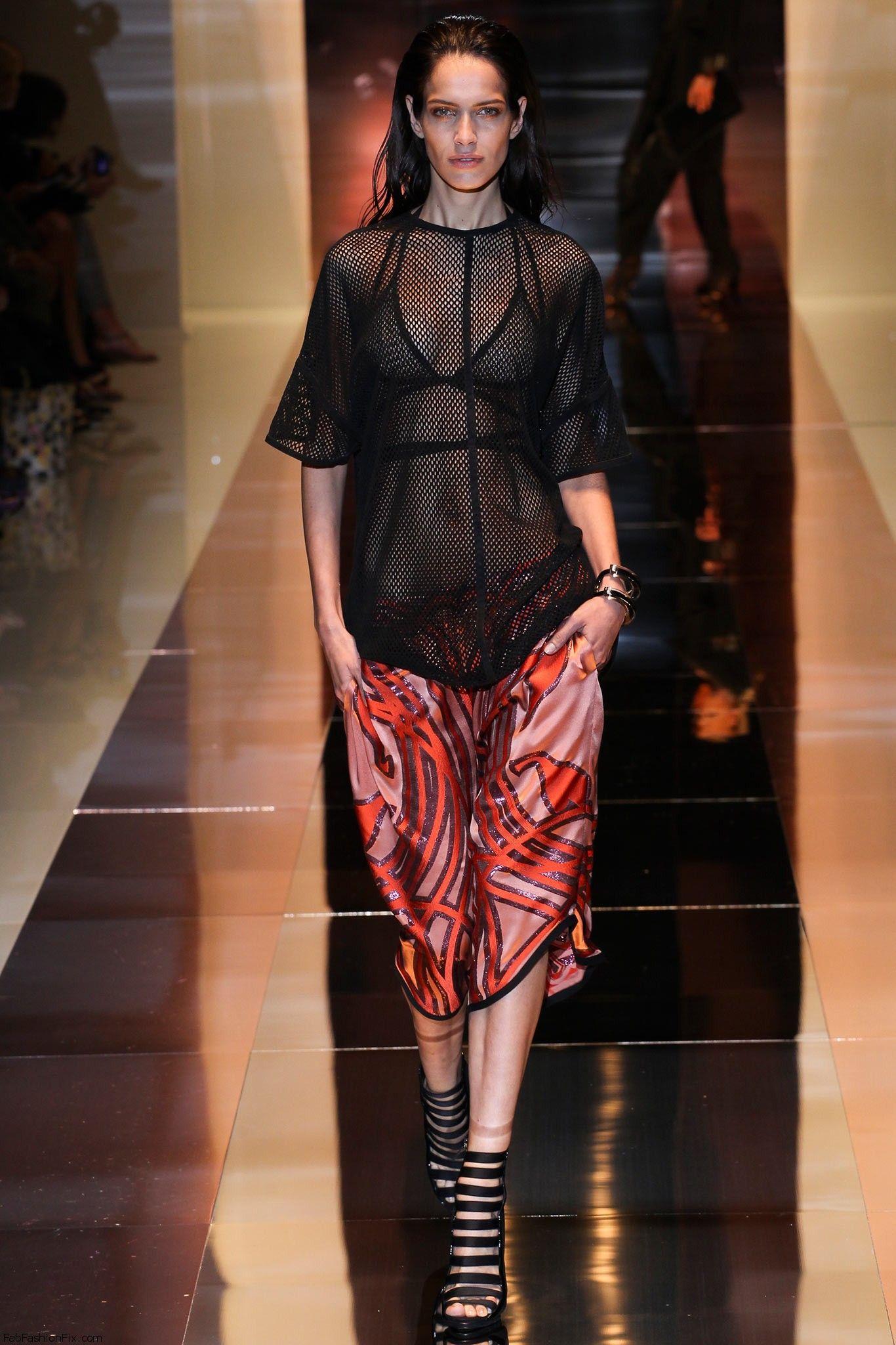 gucci spring summer 2014 collection milan fashion week