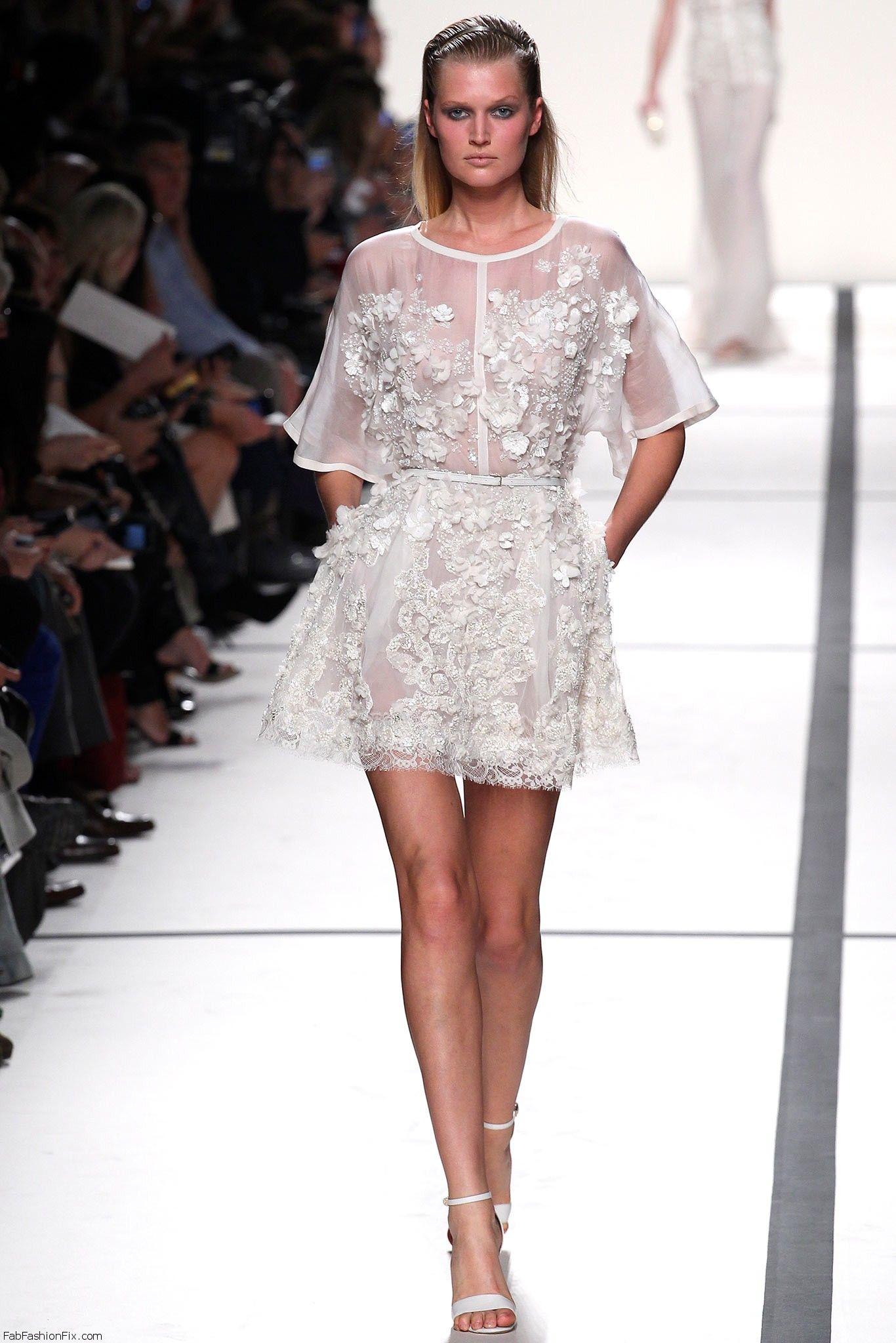 Elie Saab spring/summer 2014 - Paris fashion week - Fab Fashion Fix