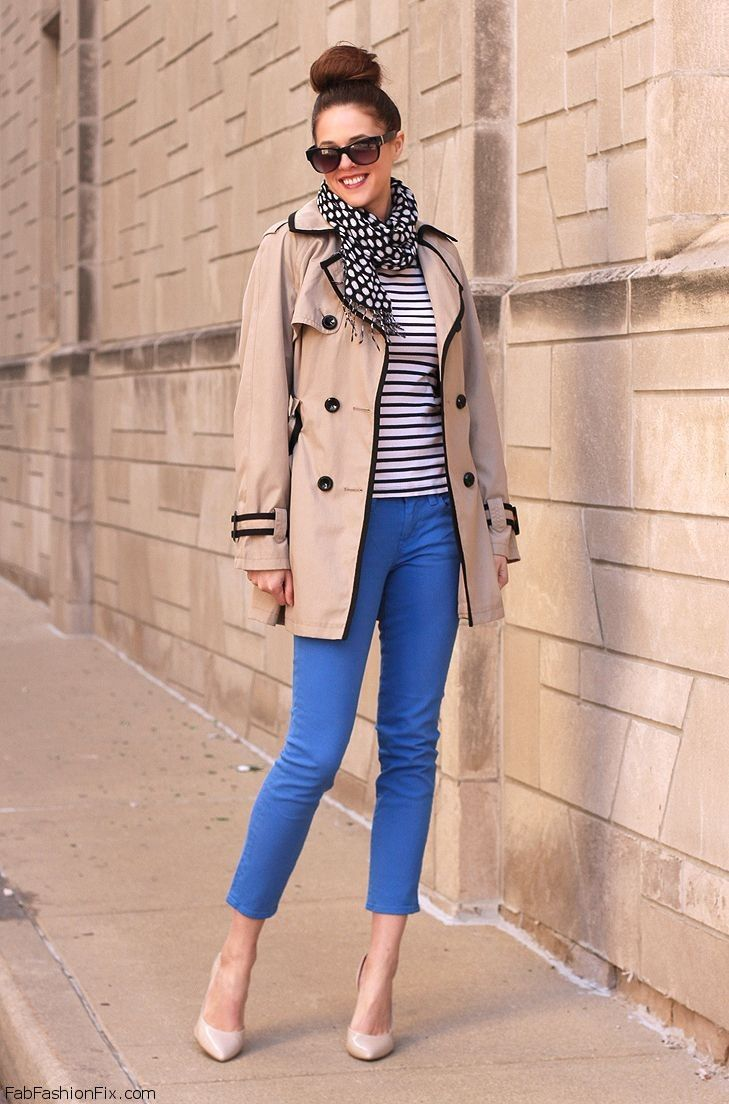 Style Guide How To Wear Stripes And Chevron This Fall Fab Fashion Fix