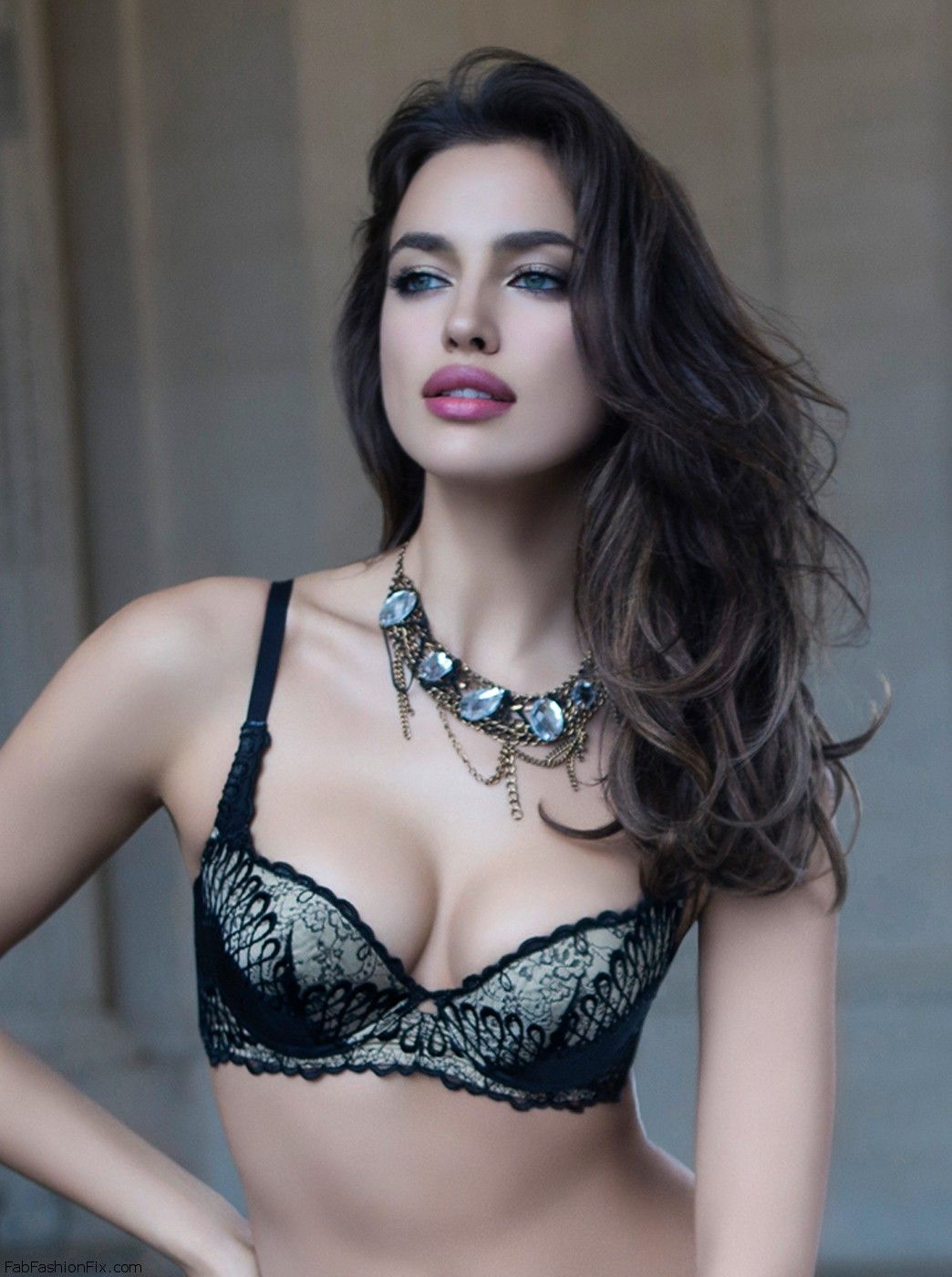 Irina Shayk for La Clover lingerie fall 2013