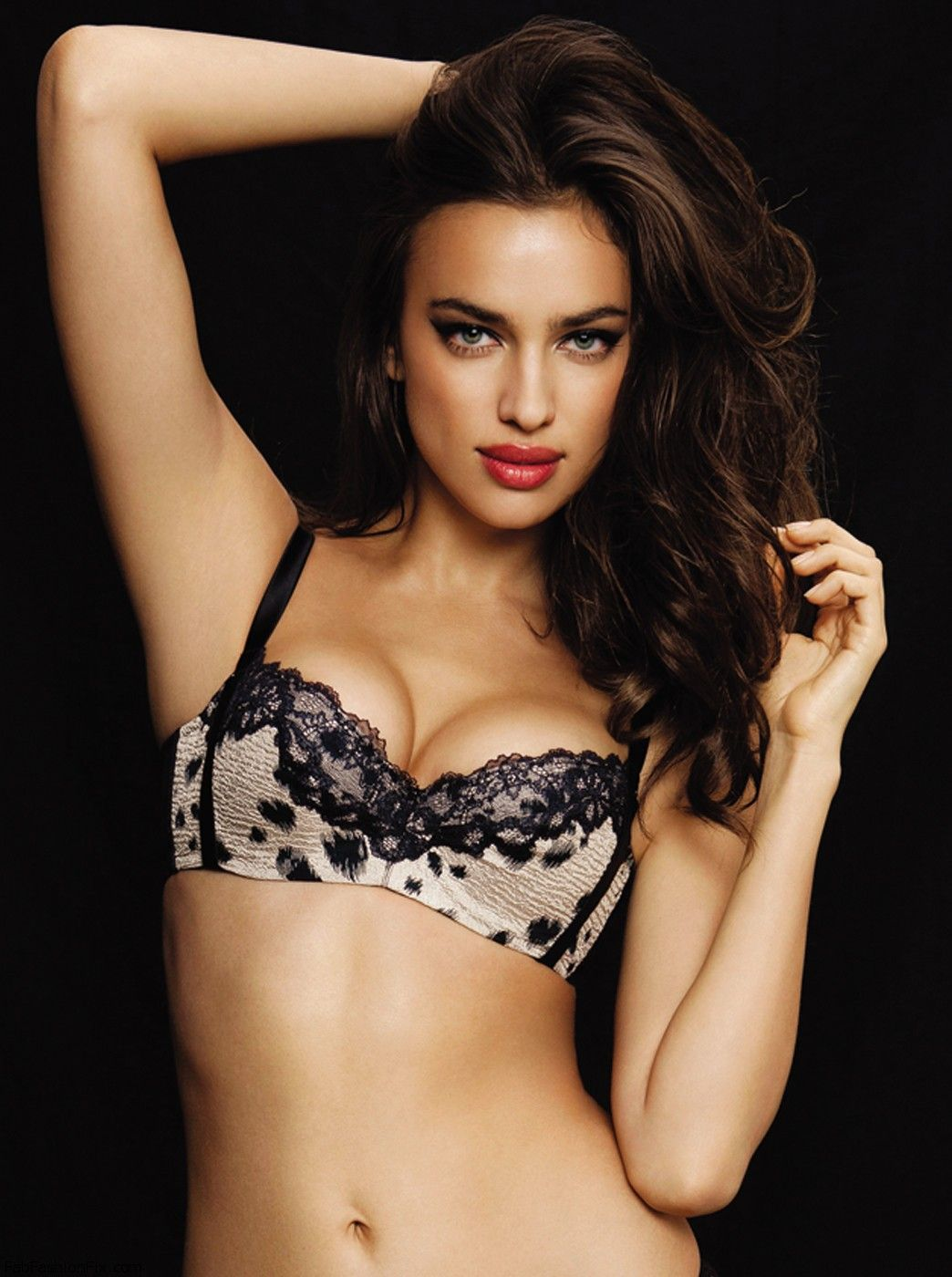 Irina Shayk for La Clover Lingerie Valentine's Day 2013 Collection
