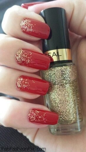 Nails: Red nails & nail art inspirations