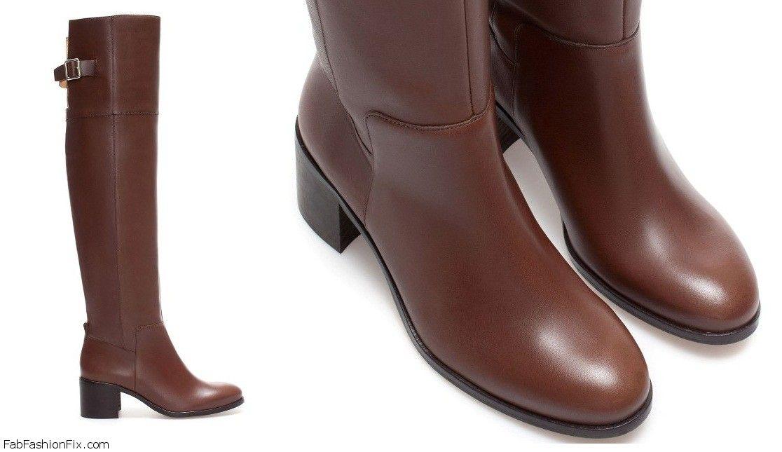 Black heel boots for girls