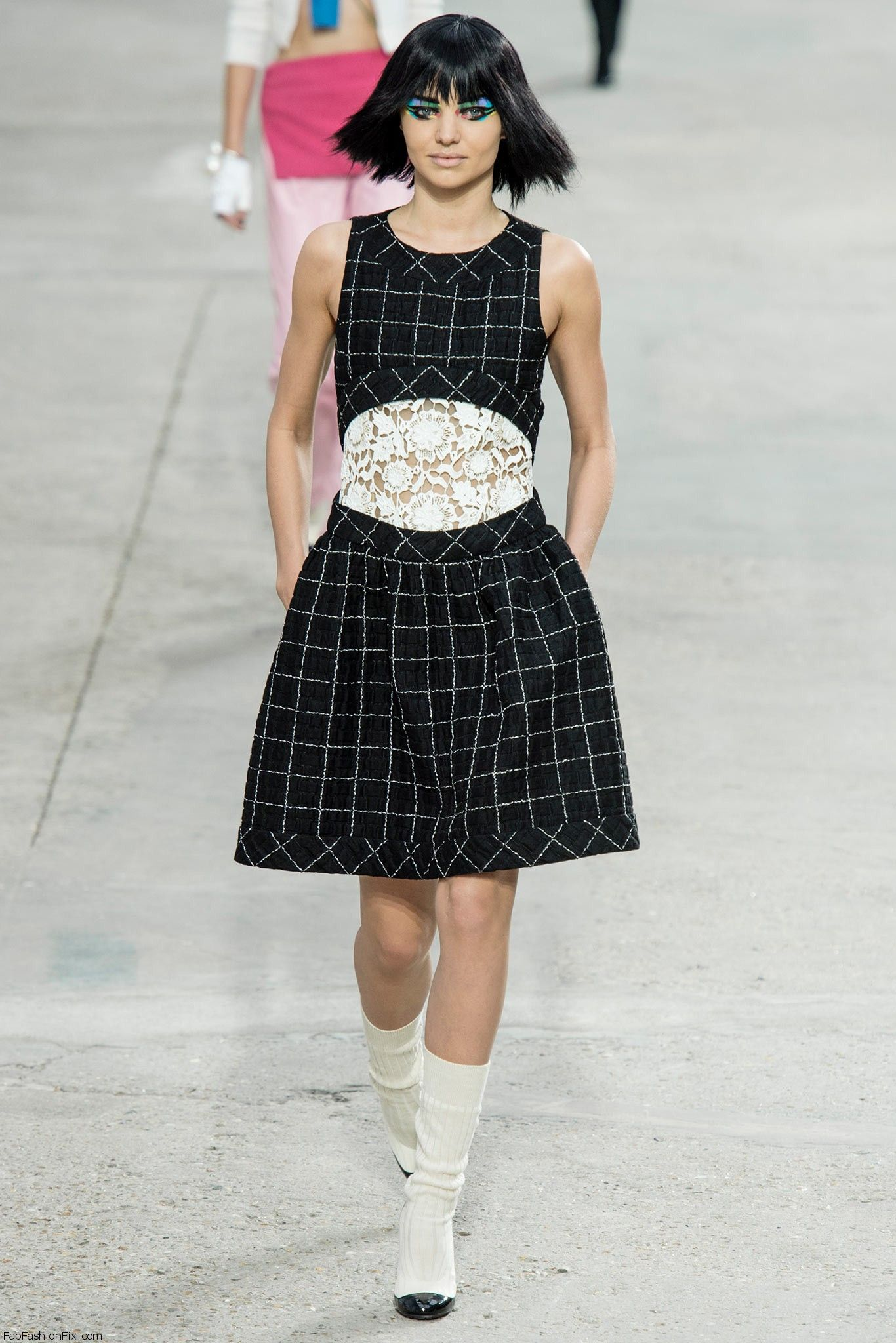 chanel springsummer 2014 paris fashion week fab