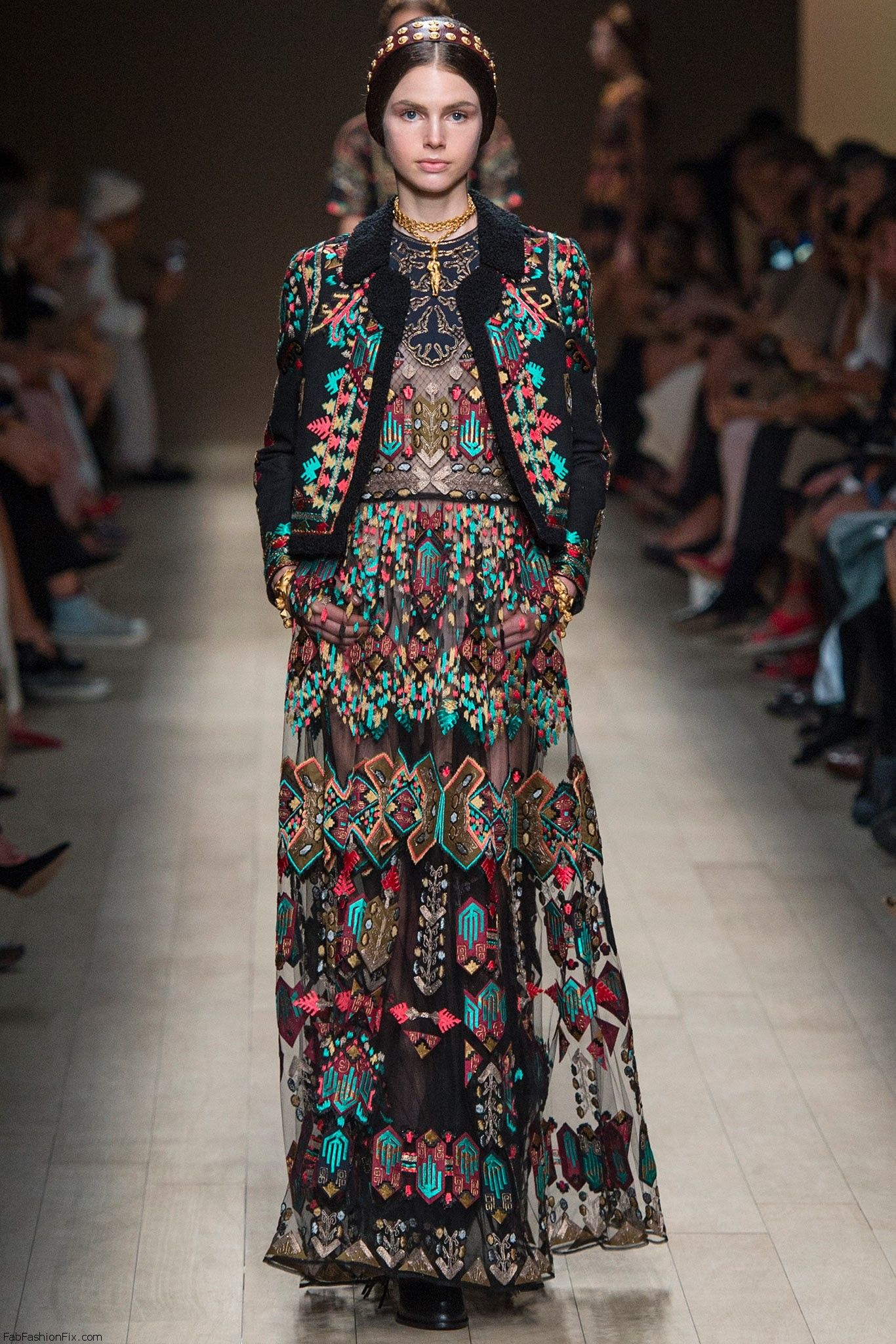 Valentino spring summer paris fashion week fab