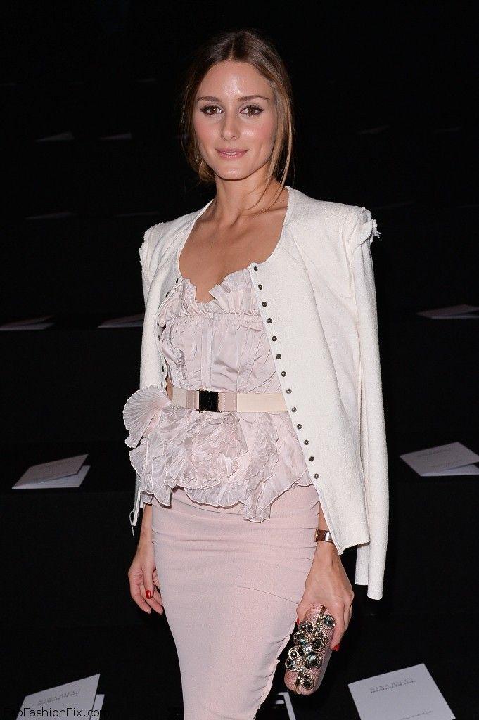 Olivia Palermo Style At Paris Fashion Week Spring 2014 Archives Fab Fashion Fix