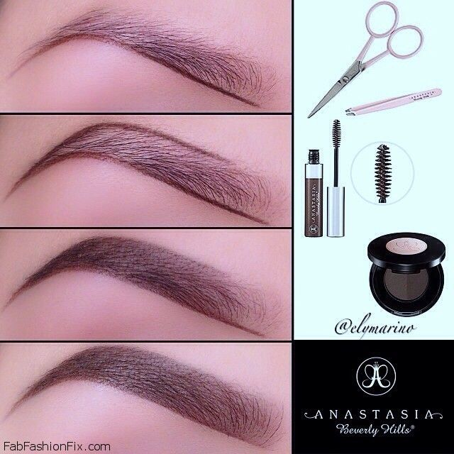 How To Shape Eyebrows With Eyebrow Kit Fab Fashion Fix