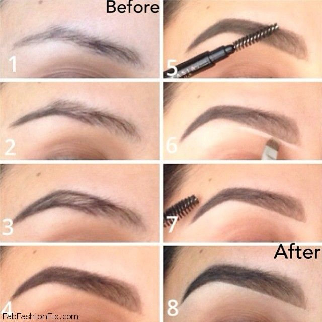 How to shape eyebrows with eyebrow kit? | Fab Fashion Fix