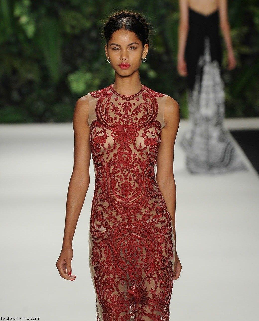 Naeem Khan SpringSummer 2014 RTW – New York Fashion Week