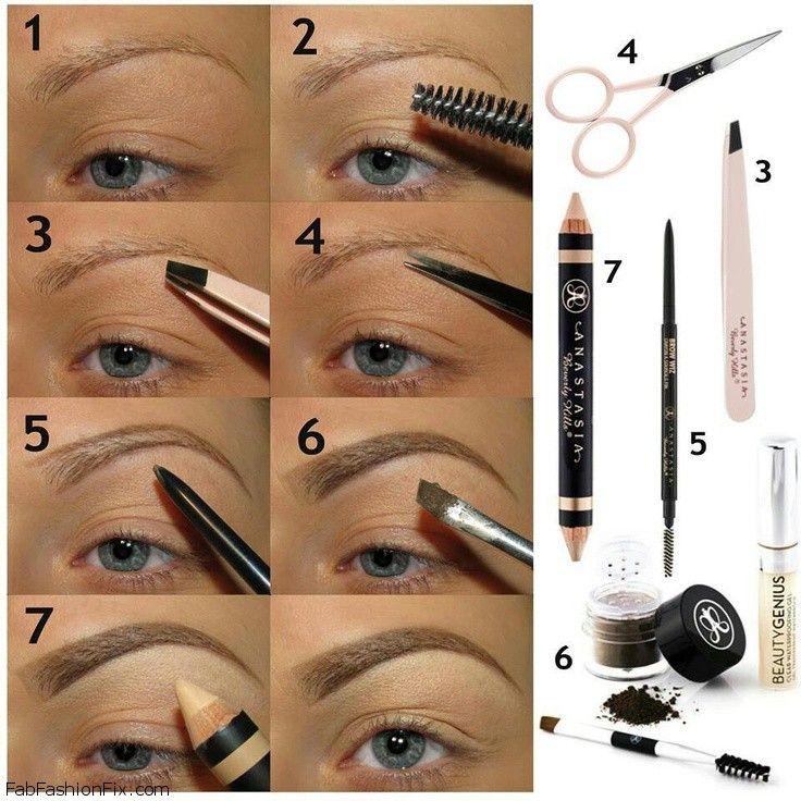 How to shape eyebrows with eyebrow kit?   Fab Fashion Fix