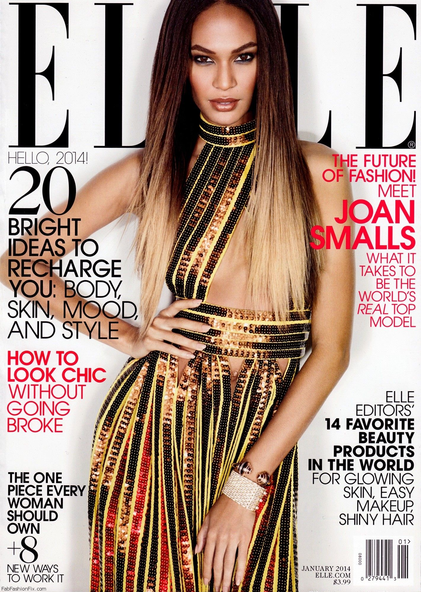 Joan Smalls Elle USA January 2014_01