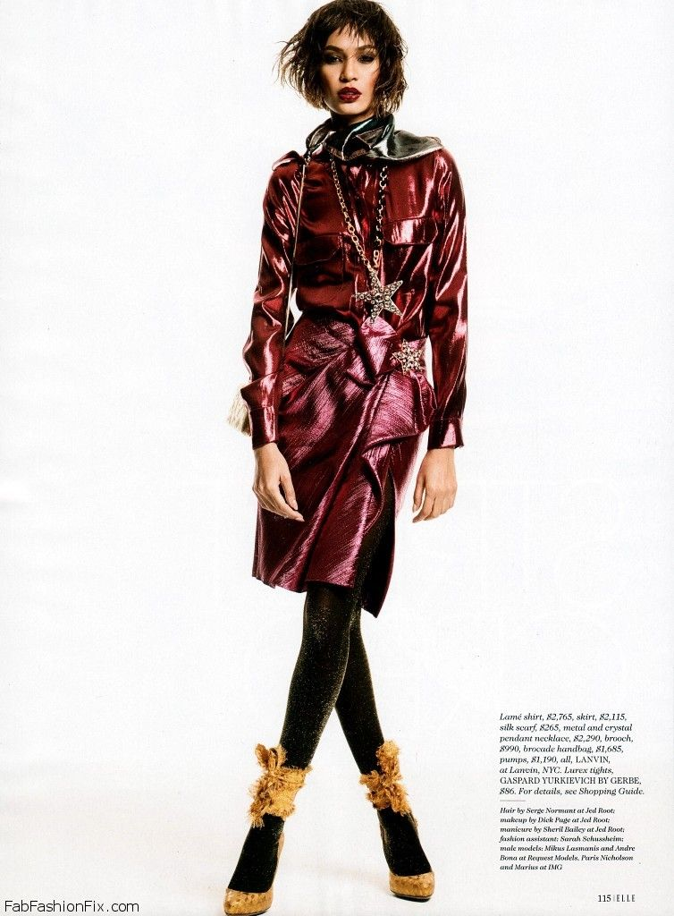 Joan Smalls Elle USA January 2014_11