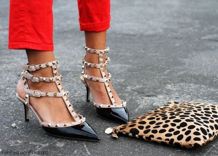 pumps garavani valentino com productdetail rockstud rock stud saks leather jsp main