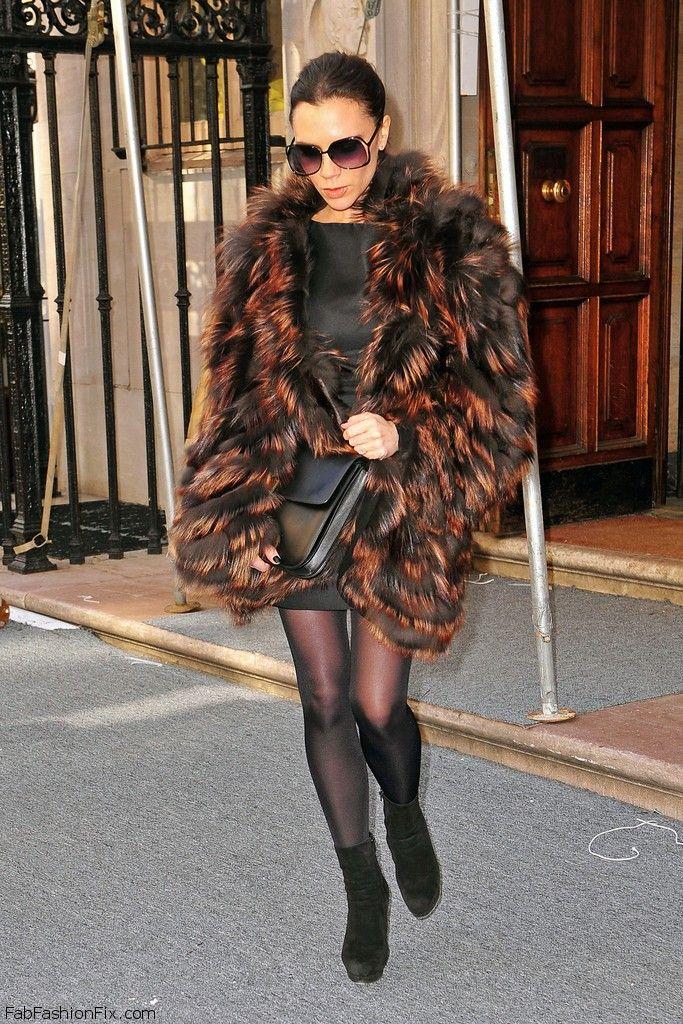Victoria+Beckham+Outerwear+Fur+Coat+VAm0cPi23F7x