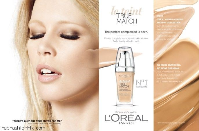 oreal Le Teint Perfect Alliance/True Match Foundation