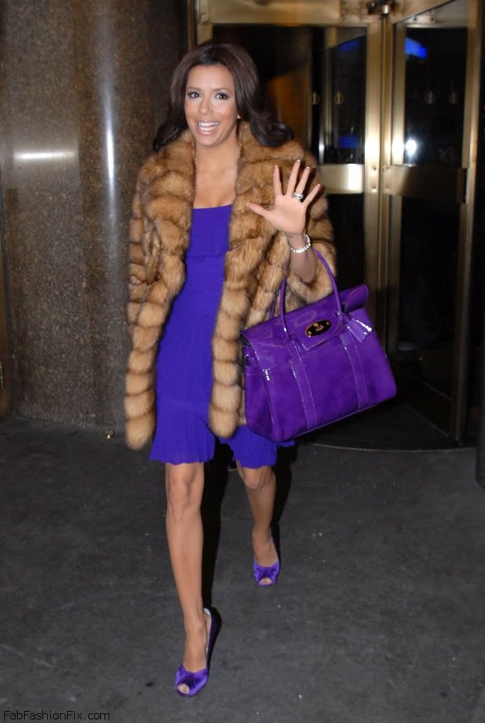 Style Watch How Celebrities Wear Fur And Faux Fur Coats This Winter Fab Fashion Fix