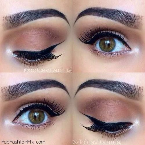 How to create bold wing eye make-up look? | Fab Fashion Fix