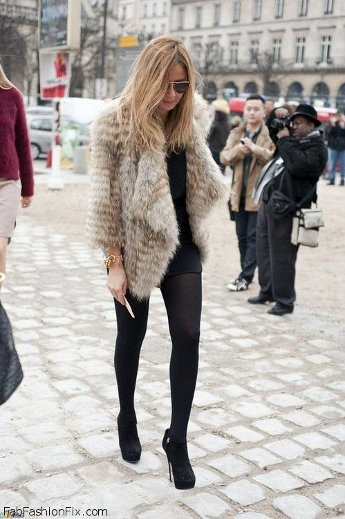 Style Watch 52 Looks With Faux Fur And Fur Coats To Try
