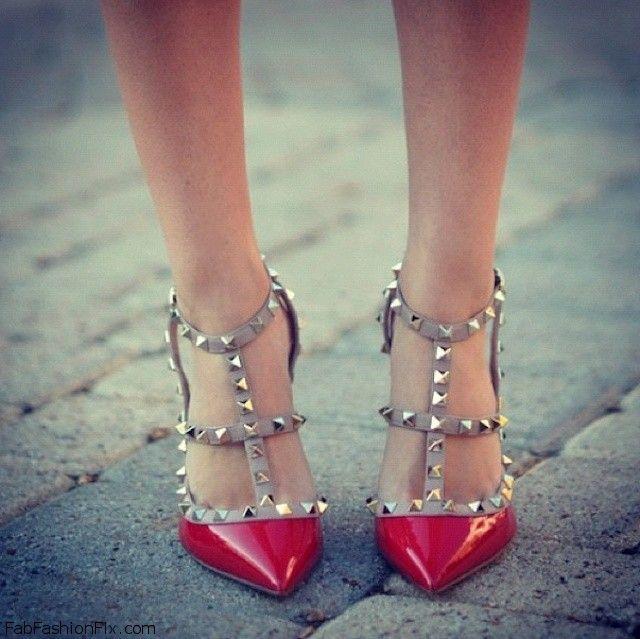 red pumpms