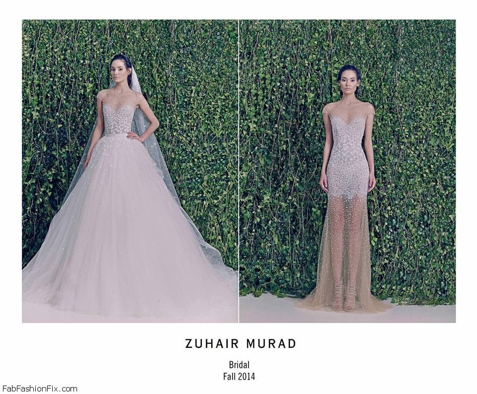 49bcc016ea1 Zuhair Murad Fall 2014 Bridal collection