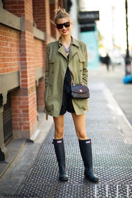 Style Guide How To Style And Wear Hunter Boots Fab Fashion Fix