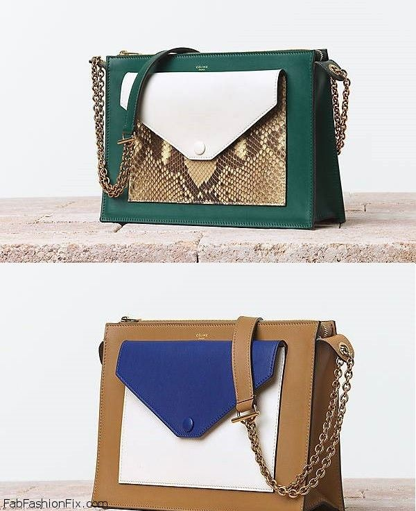 e68eec0b4b Celine Summer 2014 Bags collection - Fab Fashion Fix