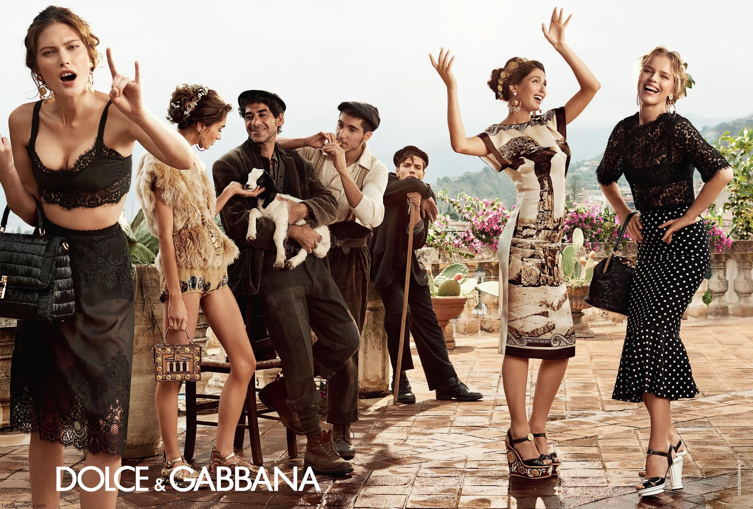dolce gabbana spring summer 2014 campaign fab fashion fix. Black Bedroom Furniture Sets. Home Design Ideas