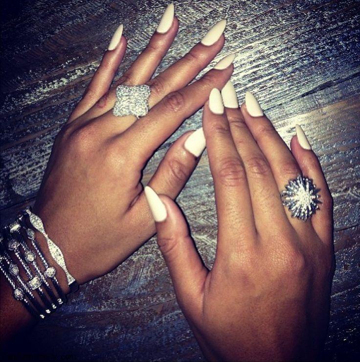 White Nails Amp Nail Art Inspirations Fab Fashion Fix
