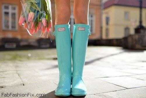 Style Watch: The Hunter Boots Trend | Fab Fashion Fix