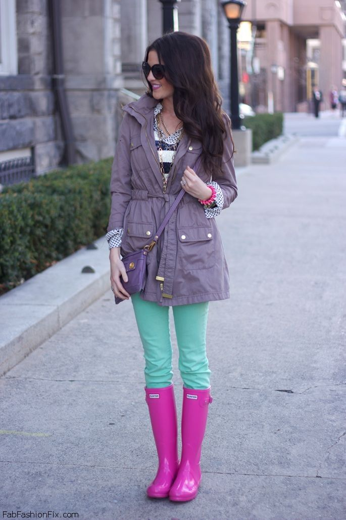 Style Guide How to style and wear Hunter boots? - Fab Fashion Fix
