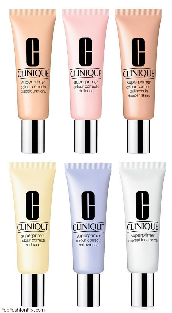 Clinique Superprimer Colour Correcting Face Primers