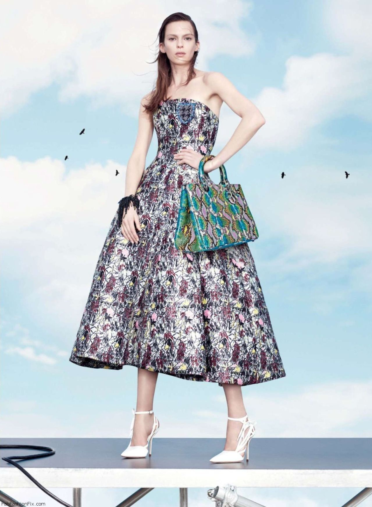2014 Spring Summer Teen Fashion Trends: Christian Dior Spring 2014 Campaign