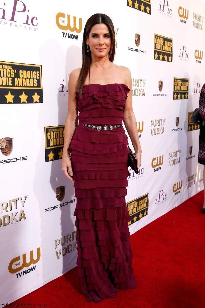 Sandra Bullock 19th Annual Critics Choice Movie Awards at Barker Hangar in Santa Monica 005