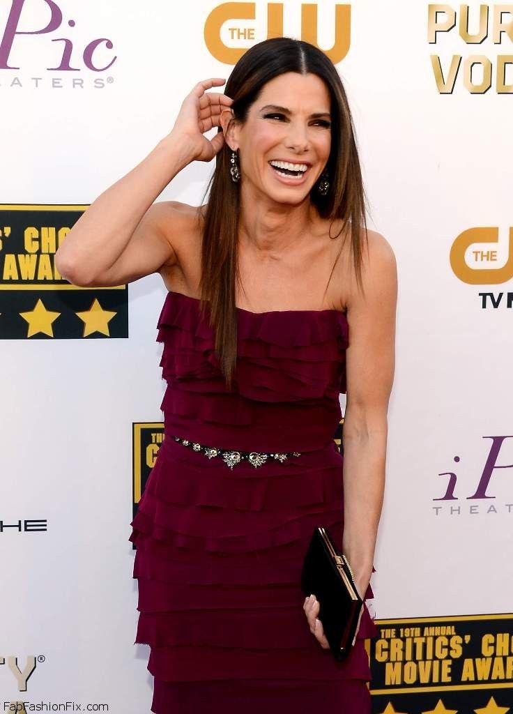 Sandra Bullock 19th Annual Critics Choice Movie Awards at Barker Hangar in Santa Monica 094