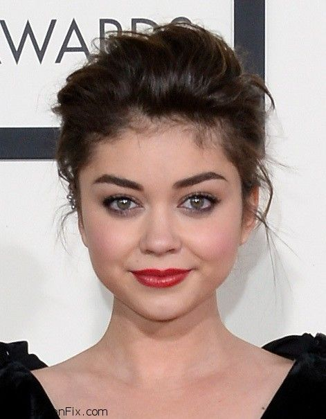 Sarah+Hyland+56th+GRAMMY+Awards+Arrivals+rYkY5Uz5usHx