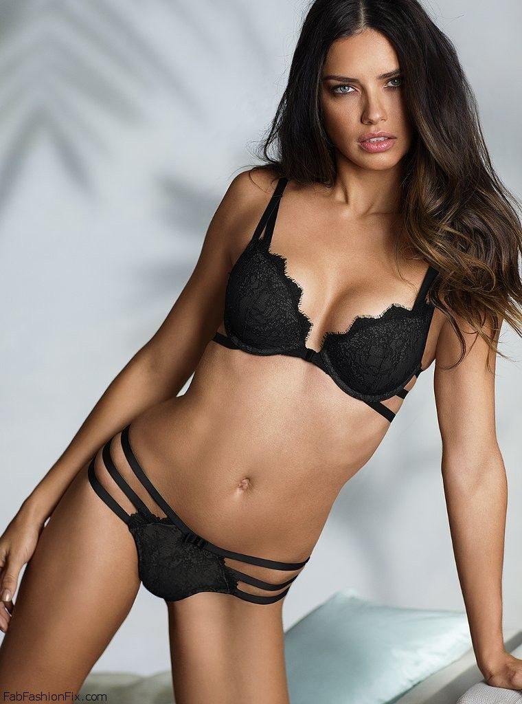 adriana lima for victoria 39 s secret lingerie january 2014 fab fashion fix. Black Bedroom Furniture Sets. Home Design Ideas