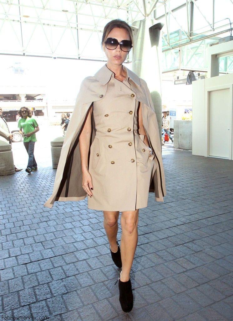 Victoria+Beckham+Outerwear+Trenchcoat+iV88dkUt0fMx