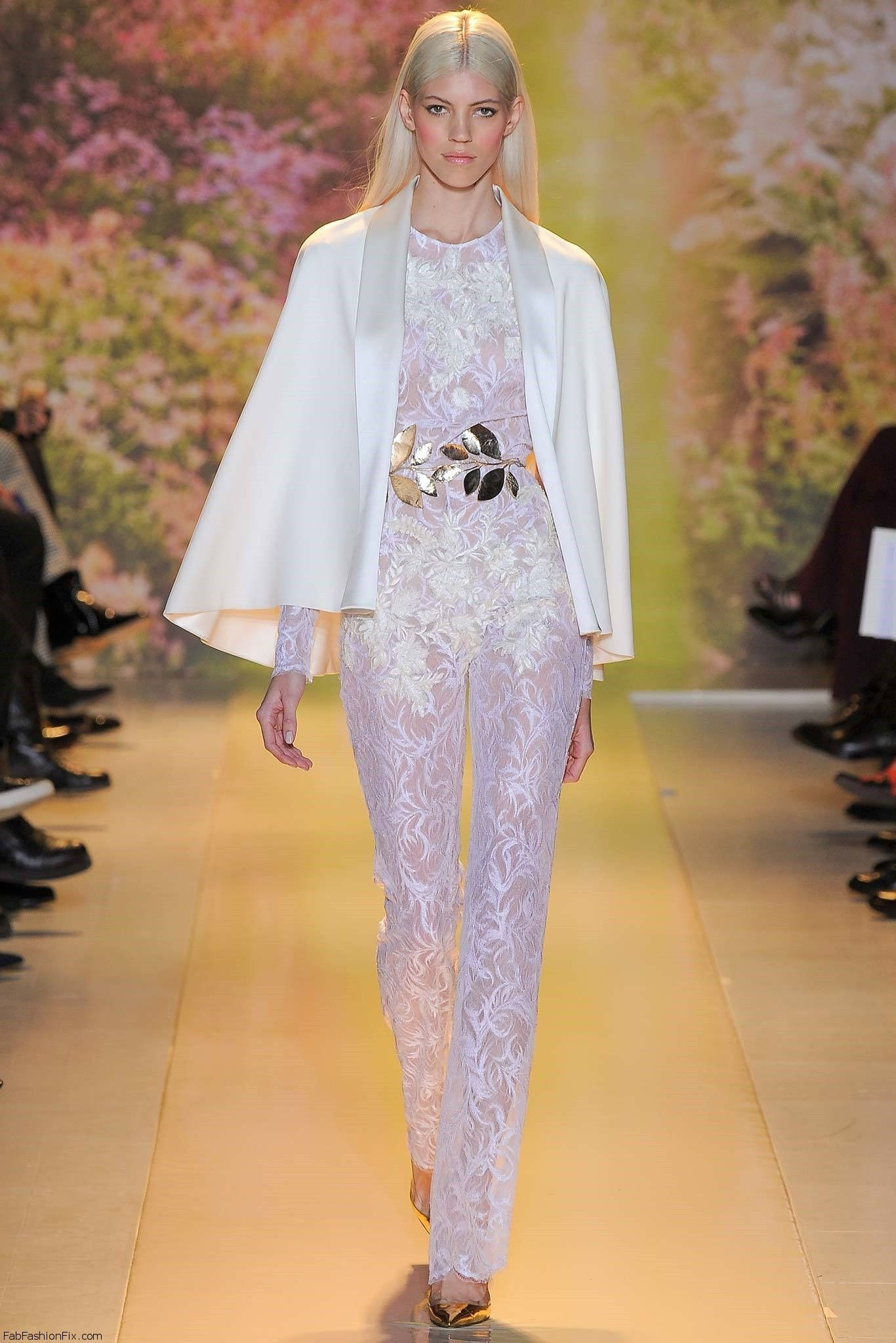 Zuhair Murad Haute Couture Spring 2014 Collection Fab