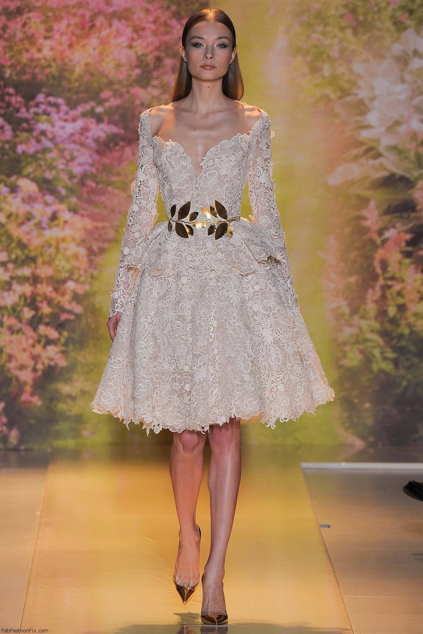 2014 Spring Summer Teen Fashion Trends: Zuhair Murad Haute Couture Spring 2014 Collection