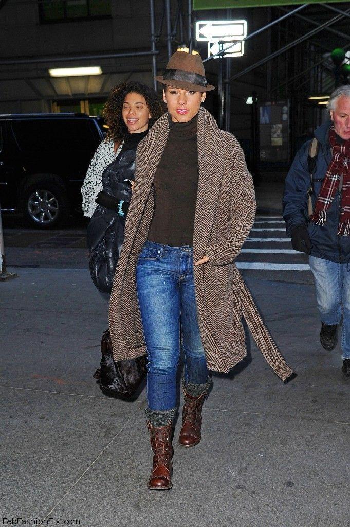 Style Watch Celebrity Streetstyle January 2014 Fab Fashion Fix